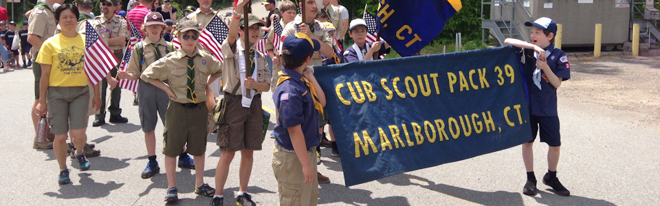 Scouts on Parade