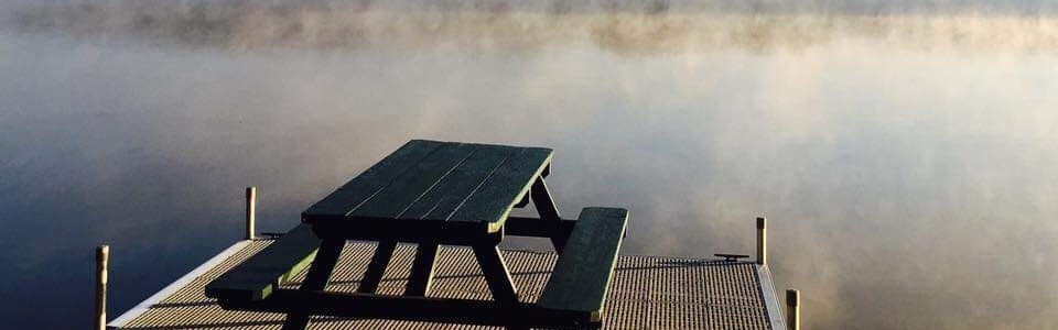 Misty Picnic Table